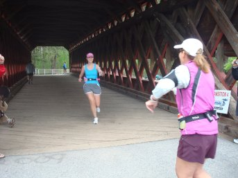 Covered bridge transition