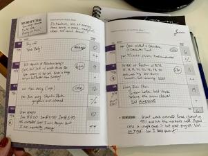Inside run journal